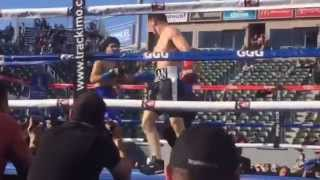 (Highlights) Ruslan Madiyev - Oscar Rojas / Руслан Мадиев - Оскар Рохас