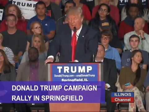 Donald Trump Rally 11/09/15 from Springfield, Illinois
