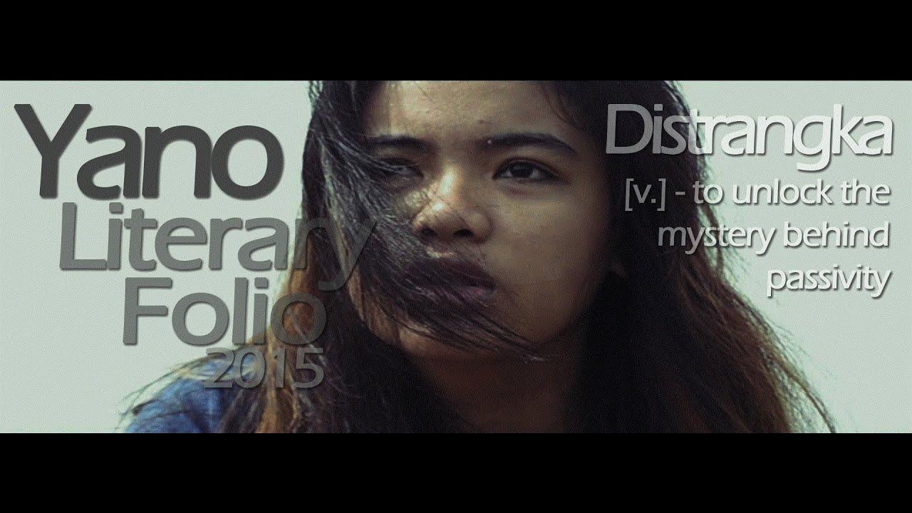 Distrangka Yano Literary Folio 2015 Official Invitation Trailer