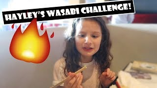 Hayley's Wasabi Challenge 🔥 (WK 376.2) | Bratayley