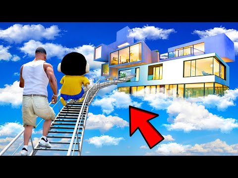 SHINCHAN AND FRANKLIN BUYING THE RAREST DREAM MANSION CHALLENGE GTA 5