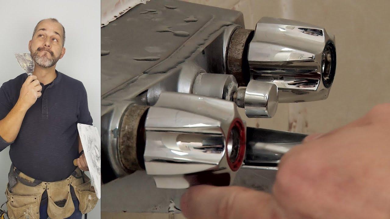 how to remove old bathtub plumbing