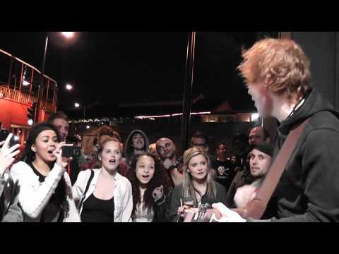 Ed Sheeran - You Need Me Unplugged And From The Pavement