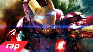 Rap do Homem de Ferro - I AM IRON MAN | NERD HITS
