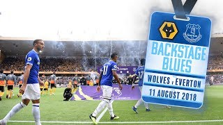 BACKSTAGE BLUES: WOLVES V EVERTON | ACCESS ALL AREAS AT MOLINEUX