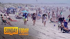 Images Of Large Gatherings Raise Concerns About New Spike In Coronavirus Cases | Sunday TODAY