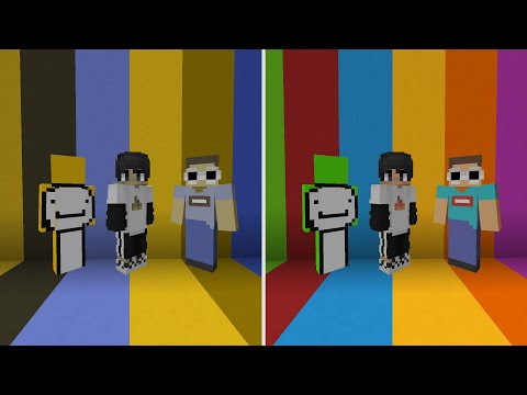Minecraft, But We Are All Colorblind...