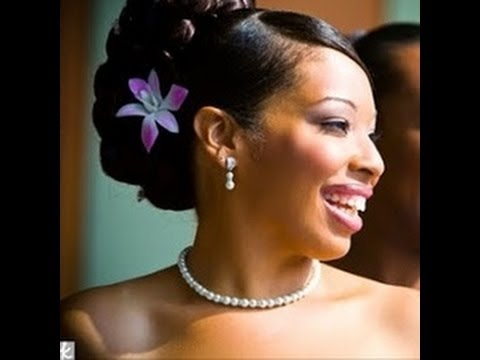 50 Wedding Hairstyles for Black and African Women - YouTube