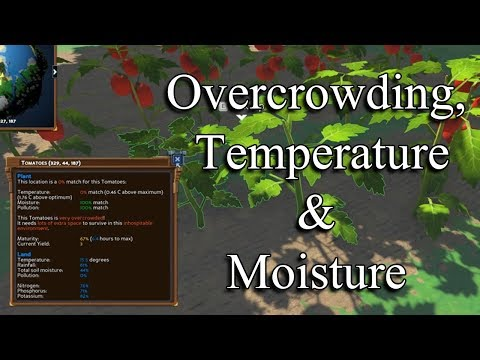 Eco Game: Overcrowding, Temp and Moisture Farming Tips