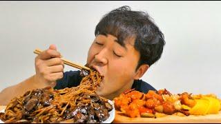 [먹방/EATING SHOW MUKBANG]짜장면 깐풍…
