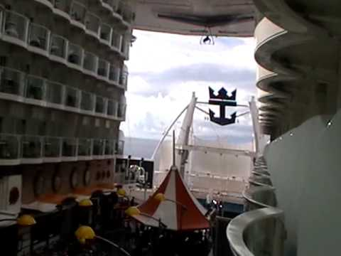 Oasis Of The Seas Boardwalk Balcony Cabin Youtube
