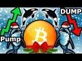 Xmas Bitcoin Heist. Whale Planned Pump & Dump. Crash Incoming?