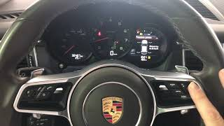 ❌TUTO🔴 How to change the language on the driving screen of a Porsche Macan