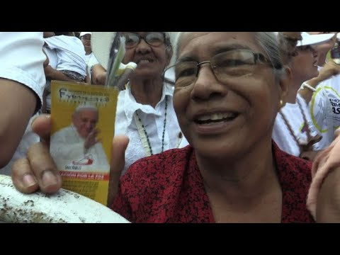 Pope draws Colombia visit to an end with plea against poverty