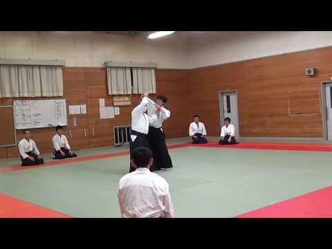 IWAMA STYLE AIKIDO Okayama Aiki Shuren Dojo H30.3.3