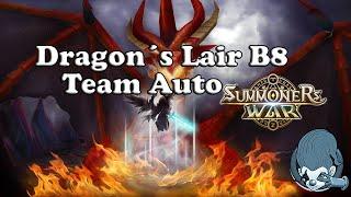 summoner war dragon s lair b8 team auto