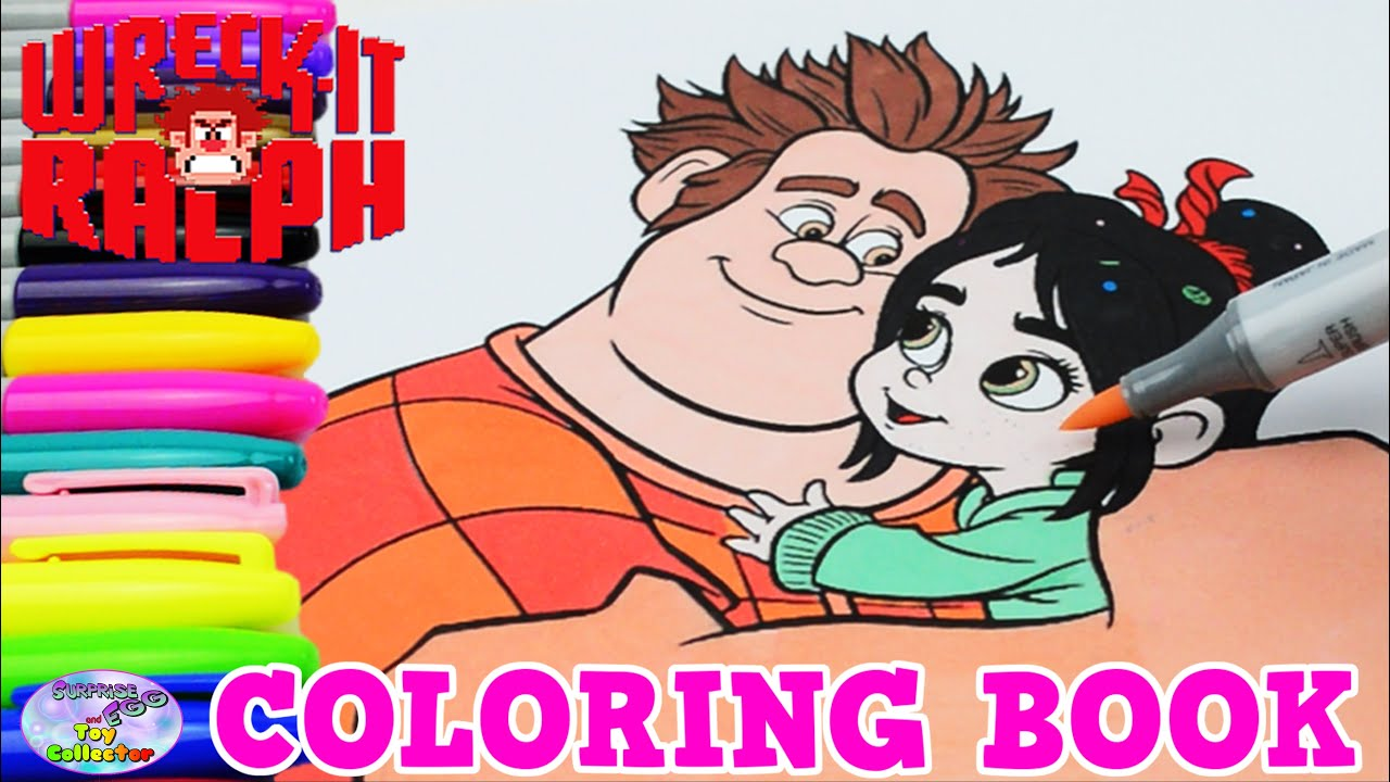 Disney Coloring Book Wreck It Ralph