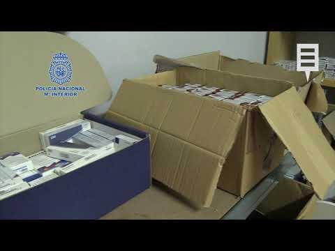 Una operación contra la venta de anabolizantes y esteroides acaba con 31 detenidos