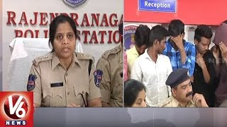 Police Arrests Drug Smuggling Gang In Shadnagar | Ranga Reddy | V6 News