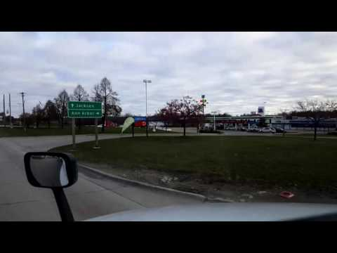 Bigrigtravels Live! - Dexter to Harrison Township, Michigan - Interstate 94 East - November 21, 2016
