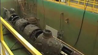 Hunley submarine fully visible
