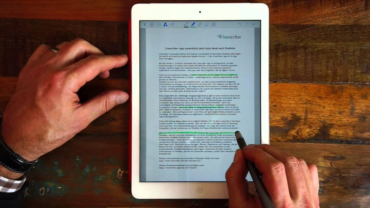 Pdf Dokumente Auf Dem Ipad Mit Goodnotes Annotieren Youtube