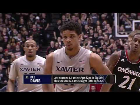 Cincinnati vs Xavier basketball 12.12.2015