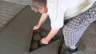 декоративный бетон своими руками Ч 3