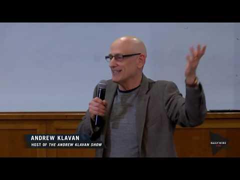 LIVE: Andrew Klavan Speaks at Hobart University