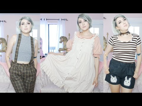Over the Garden Wall inspired fashion HAUL