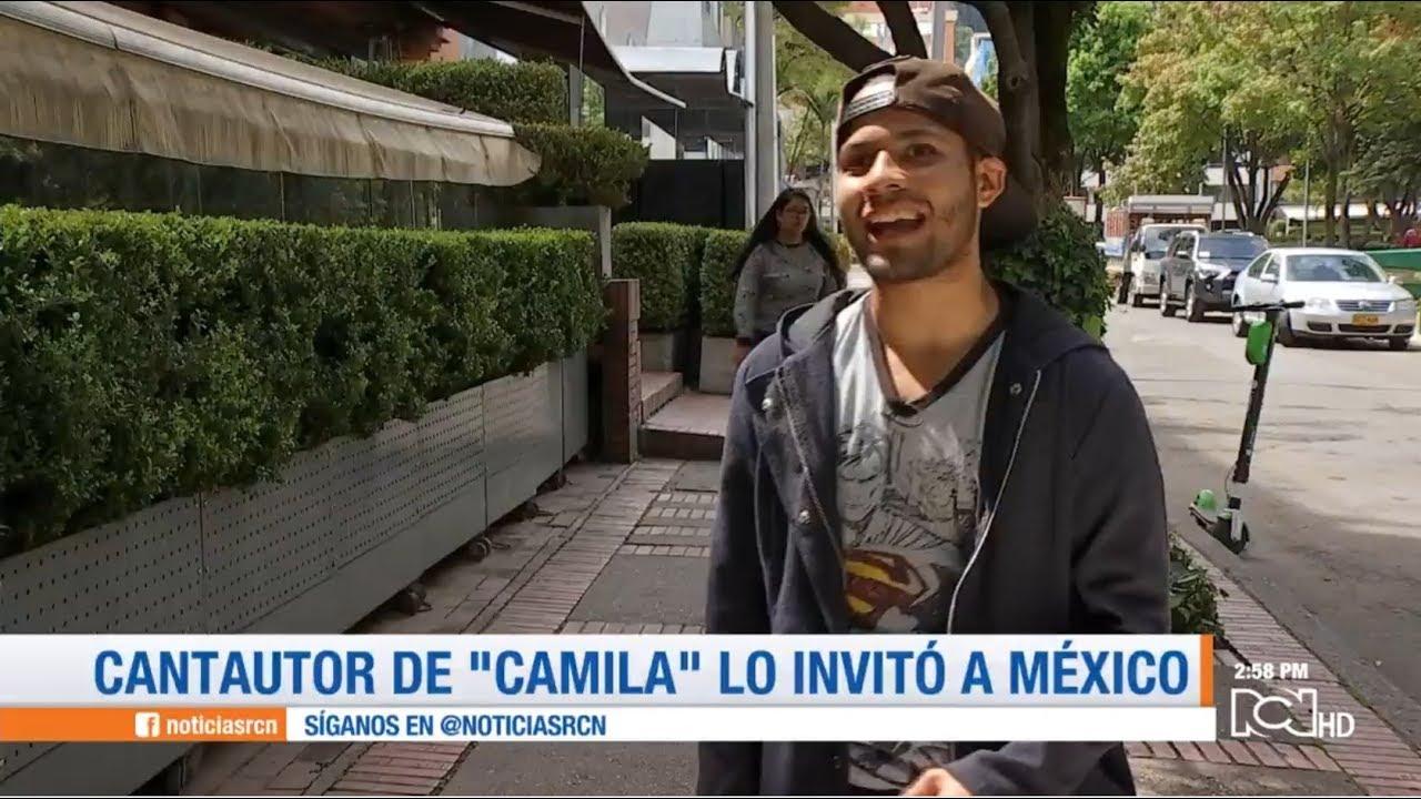 """Resultado de imagen para Vocalista del Grupo """"Camila"""" invita al joven inmigrante venezolano Alexander Beja a participar en su agrpación"""