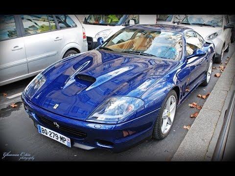 Ferrari 575 M Maranello blue in Paris