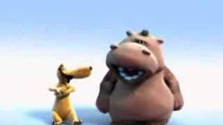 Singing Hippo - Lion King