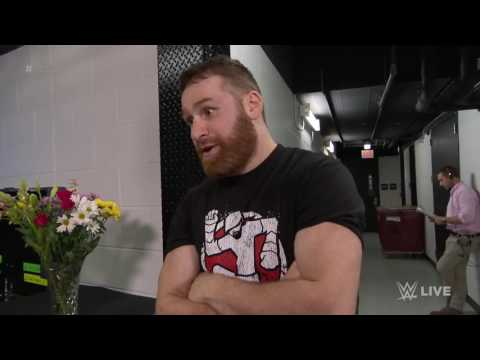 """""""The Power Of Love"""" Show Sami Sayn That Love Hurts: Courtesy Of SmackDown Live ,July 11 2017"""
