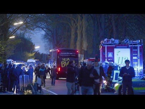 German police investigating 'Islamist link' in Borussia Dortmund bus blast