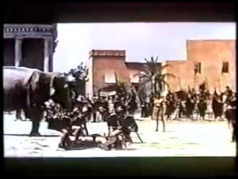 Movie trailer for  Goliath And The Dragon  1960