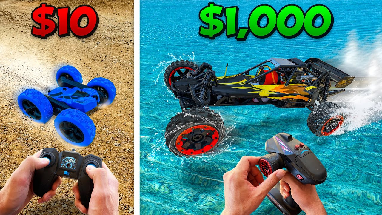 Download $10 vs $1000 RC Car Battle! *BUDGET CHALLENGE*