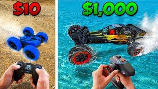 Download lagu $10 vs $1000 RC Car Battle! *BUDGET CHALLENGE*