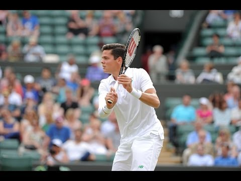 2014 Day 9 Highlights, Milos Raonic vs Nick Kyrgios, Quarter-Final
