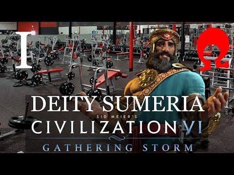 Omega Alden Plays Civilization 6 Gathering Storm - Sumeria - Part 1