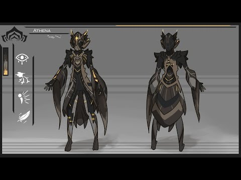 Concept Checkup: Athena, the Owl Warframe