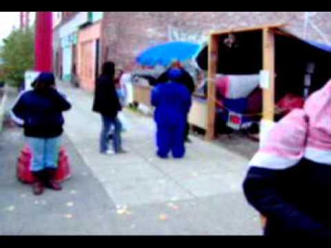Urban reality of a modern economic refugee camp