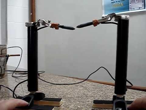 Lampada de arco voltaico de humphry davy youtube for Lampada arco