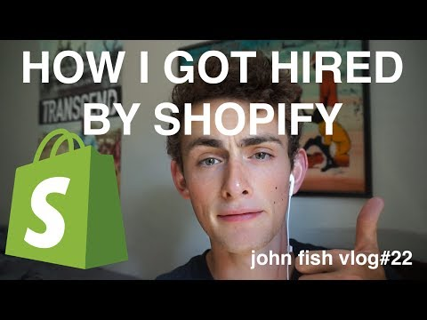 HOW I GOT HIRED BY SHOPIFY