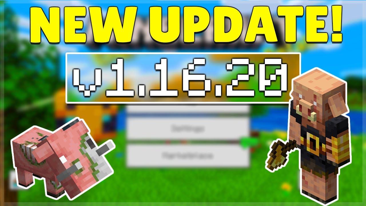 Minecraft Bedrock 1 16 20 Brute Piglins Released Minecraft Bedrock New Features Changes Youtube