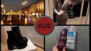 VLOG моя поездка шоппинг обувь Deichmann
