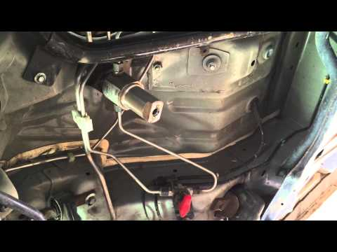How to Change your 2006-2011 Honda Civic GX CNG High Pressure Fuel Filter