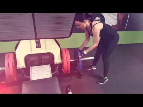 Alex Fitness Рязань - тренировка Ирины