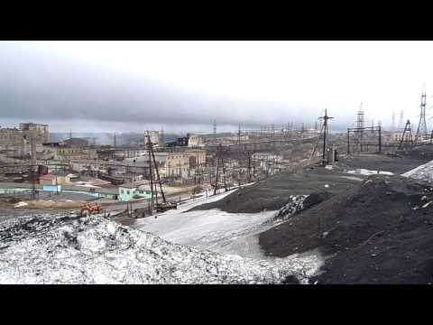 Nikel' / Никель (Russia) - Nickel factory and surroundings