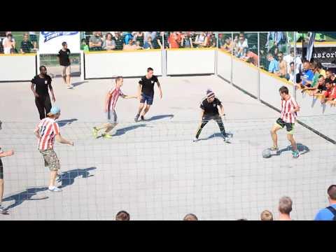 Poland vs Belgium European Street Cup 2013 Street Soccer 4vs4